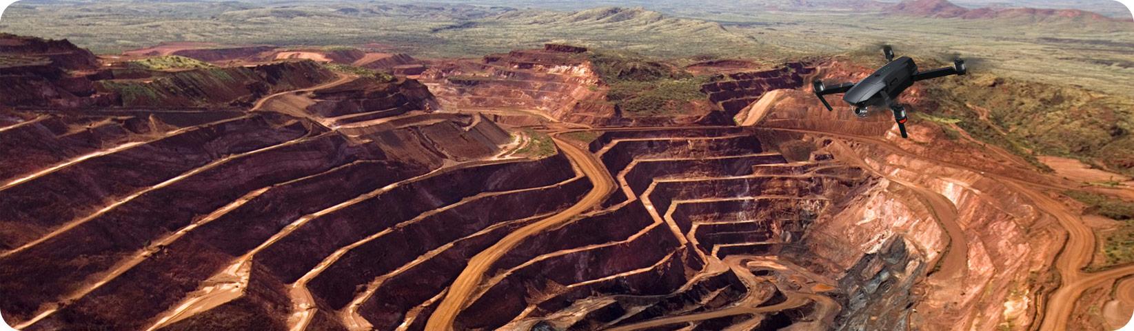 کاربرد کوادکوپتر در شناسایی معدن