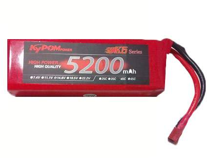 باتری 14.8 ولت 5200 میلی آمپر
