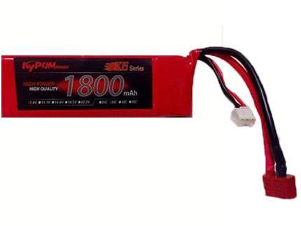 باتری ۷٫۴ ولت ۱۸۰۰ میلی آمپر لیتیوم پلیمر