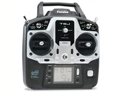 رادیو کنترل futaba 6J