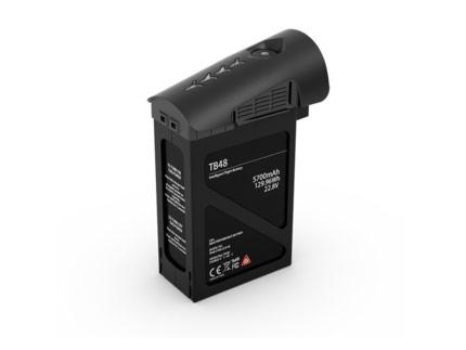 باتری اینسپایر 1 با ظرفیت 5700 میلی آمپر مشکی