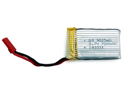 باتری لیتیوم پلیمر 3/7 ولت 700 میلی آمپر