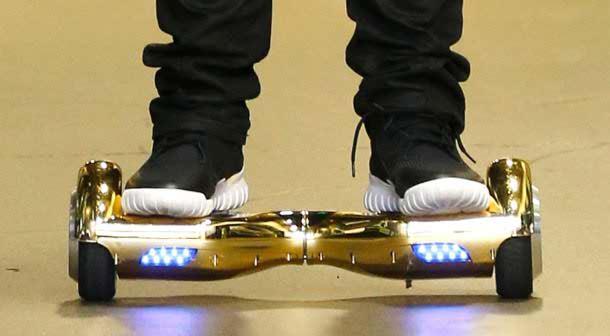 استفاده اسکوتر برقی هوشمند