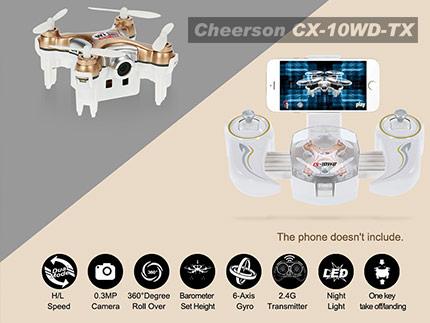 کوادکوپتر CX-10WD-TX