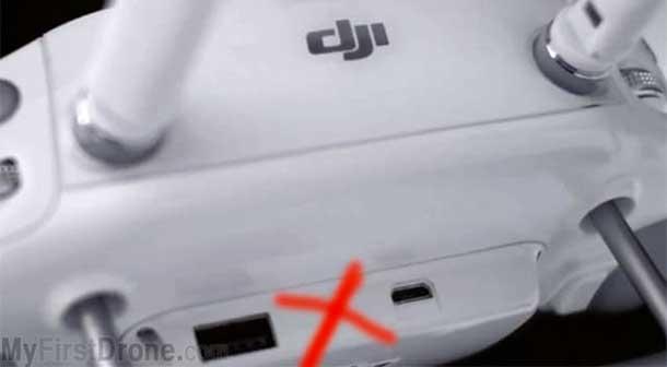 درگاه خروجی HDMI فانتوم 3 پرو