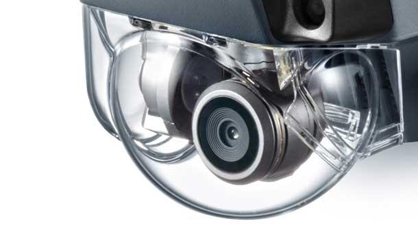 محافظ شیشه ای روی دوربین کوادکوپتر مویک پرو به چه دردی می خورد؟