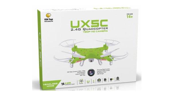کوادروتور UX5C RC