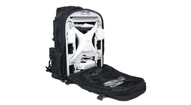 کوله پشتی یا کیف محافظ کوادکوپتر