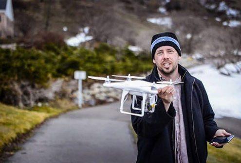 آموزش تصویر برداری هوایی - بخش دوم