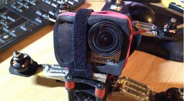 دوربینی قدرتمند برای کوادکوپتر خود انتخاب کنید
