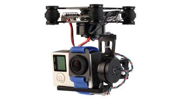 آموزش تصویر برداری هوایی به کمک کوادکوپتر