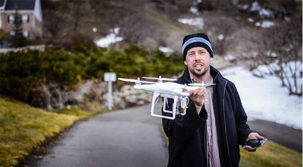 آموزش تصویر برداری هوایی - بخش اول