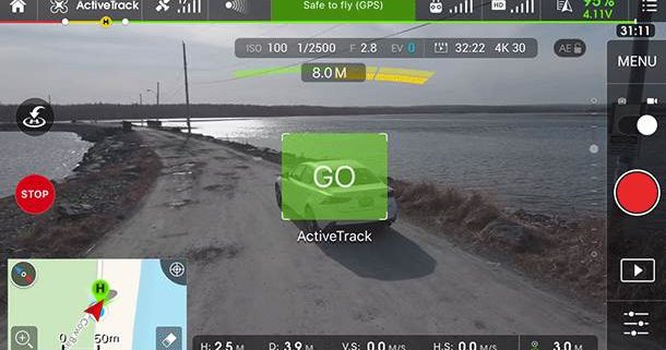 Active track چیست ؟