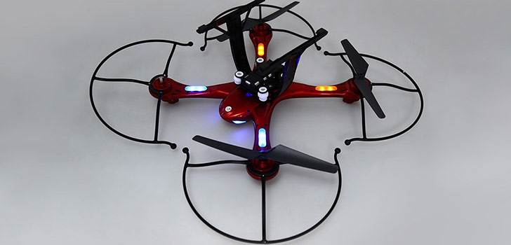 چراغ های درخشان پهپاد X102S