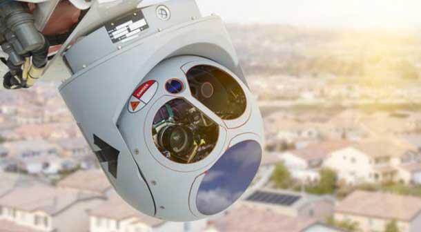 نظارت هوایی به کمک کوادکوپتر