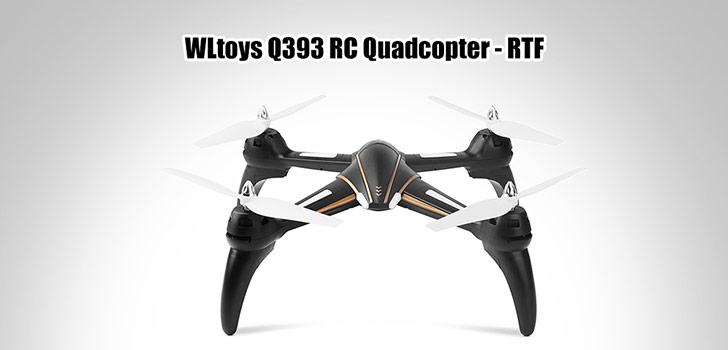 طراحی آیرودینامیکی WLTOYS-Q393-A