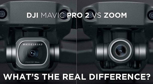 تفاوت دوربین مویک 2 پرو و زوم