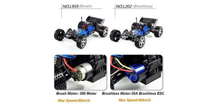 مقایسه ماشین L202 و L959