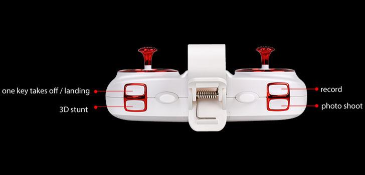ریموت کنترل پهپاد دوربین دار SYMA Z3