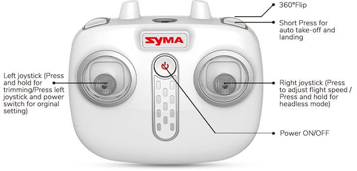 رادیو کنترل کوادکوپتر syma x26