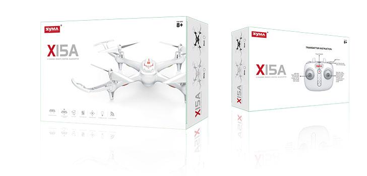 بسته بندی کوادکوپتر X15A