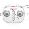 ریموت کنترل پهپاد SYMA X15A