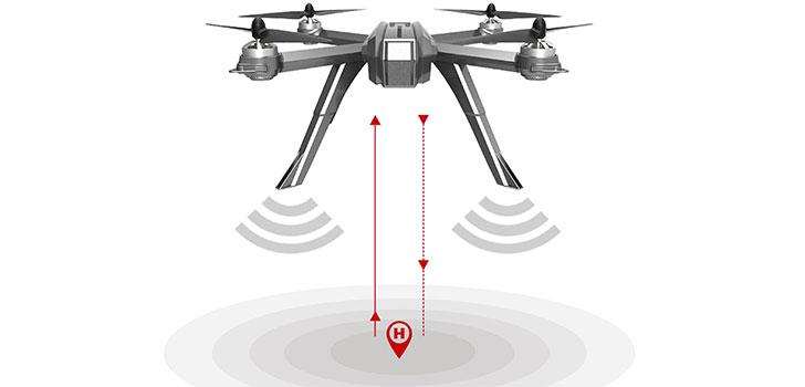 قابلیت حفظ ارتفاع خودکار باگز 3 پرو