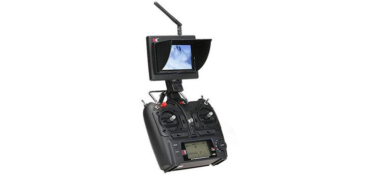 ریموت کنترل کوادکوپتر XK X252