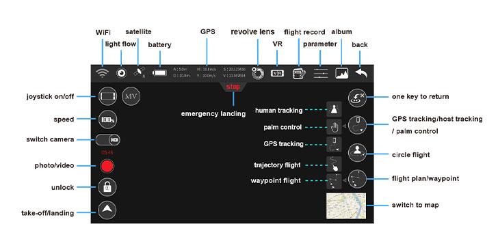 اپلیکیشن کوادکوپتر syma w1 pro