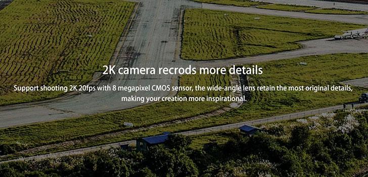 دوربین کوادکوپتر H73
