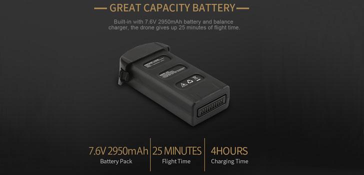 باتری کواد کوپتر x7p