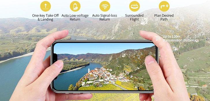 کوادکوپتر دوربین دار x3p مجهز به ارسال تصویر لحظه ای