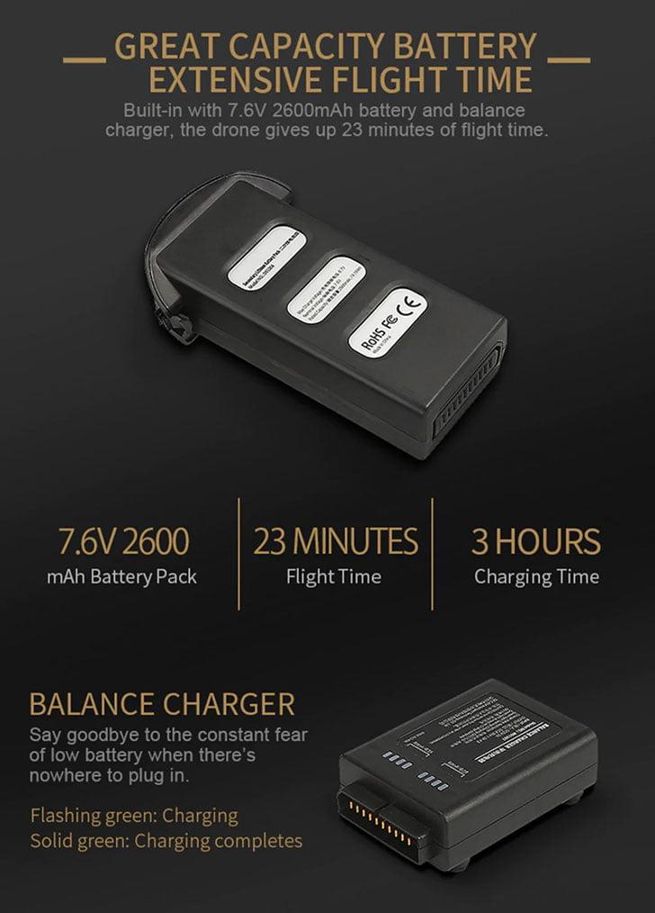 باتری هلی شات jjrc x7