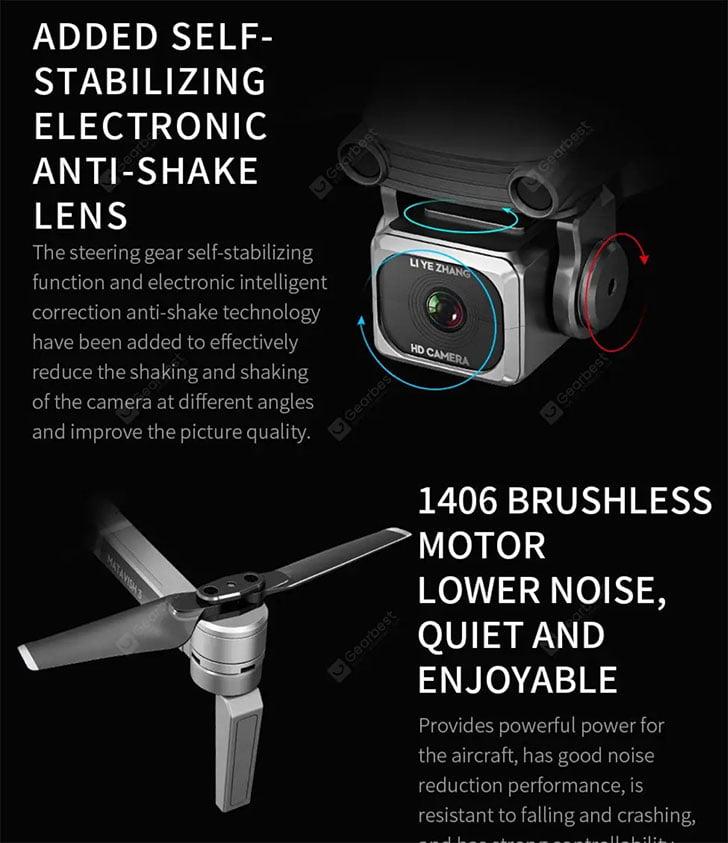 کوادکوپتر دوربین دار l109