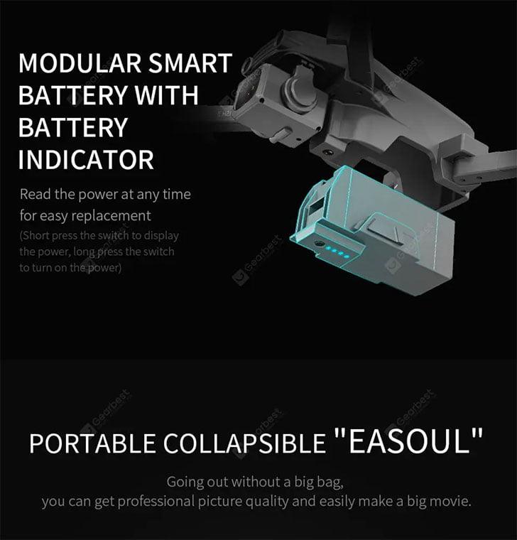 باتری کوادکوپتر L109