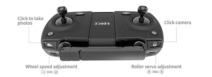 ریموت کنترل کوادکوپتر f8